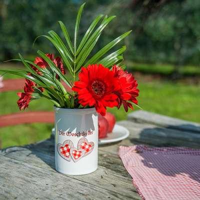 Blumenvase bedrucken